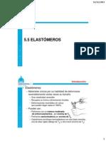 5.5 Elastómeros
