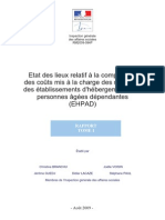 Rapport IGAS - Cout EHPAD - Aout 2009