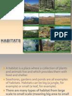 Habitats Intro Ks2 Beasa