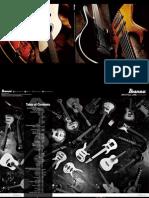 Ibanez 2013 Catalog