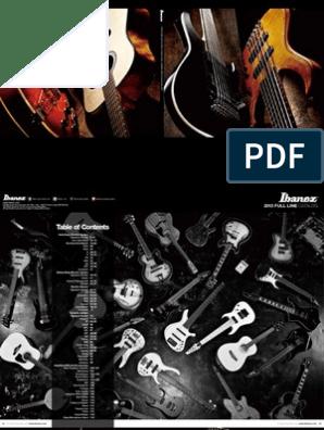 Ibanez 2013 Catalog   Guitars   Guitar Family Instruments on