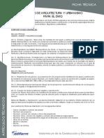 Normas de Arquitectura y Urbanismo Para El Dmq