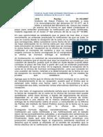 Dictamen sobre notificación por Carta certificada (Art. 46 Ley 19.880)