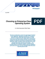 JGoldAssociates Choosing an Enterprise-Class Wireless Operating System July2008