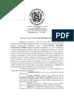 Setencia de Inhabilitacion de David Uzcategui