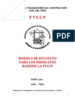 Modelodeestatutosindicatos Bases