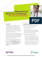 Cigna Preventive Health Coverage Guide