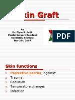 SKIN GRAFT powerpoint