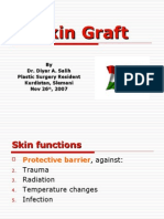 SKIN GRAFT powerpoint