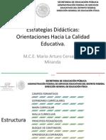 CONFERENCIA ESTRATEGIAS DIDÁCTICAS FEBRERO 1- 2013