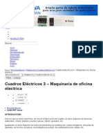 Cuadros Eléctricos 3 – Maquinaria de oficina electrica - InfoPLC