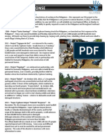 Philippines Response 1 Page