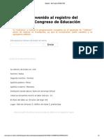 Registro - Mi Campus ITESM CCM