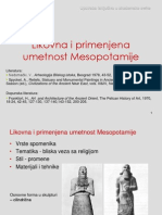 11-12 Likovna i Primenjena Umetnost Mesopotamije