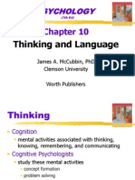 10 Thinking and Language