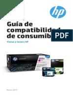 Guia de Compatibilidad Consumibles Hp
