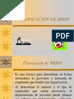 Planificacion de Rrhh