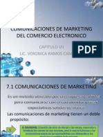 7 Comunicaciones de Marketing Del Comercio Electronico