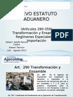 Nueva Regulacion Aduanera Agosto 2013