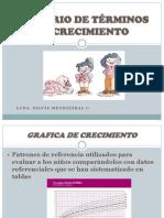 GLOSARIO DE TÉRMINOS DE CRECIMIENTO