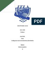 configuracion de las herramientas administrativas