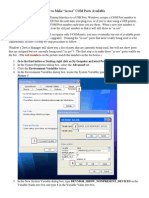 Make COM Ports Available
