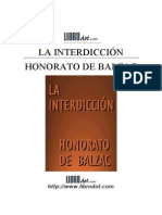 Balzac Honore de - Inerdiccion La