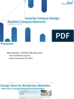 High Availability in Campus Network 2012-Usa-PDF-BRKCRS-3032