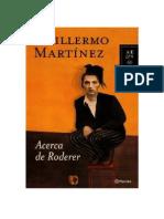 28921207 Martinez Guillermo Acerca de Roderer