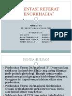 Menoragia Dr Adi