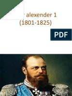 Tzar Alexender 1