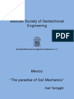 Mexican Society of Geotechnical Engineering