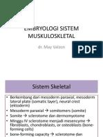 Embryo Dan Myologi Umum