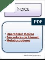 Operadores. Buscadores y Metabuscadores