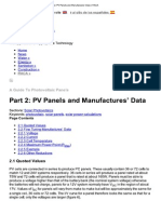 Imprimir - Part 2_ PV Panels and Manufactures' Data _ ITACA