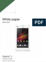 Whitepaper en c2105 Xperia l
