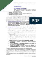 1. A sociolingüística. Definición, disciplinas fronteirizas, abordaxes e áreas de estudo