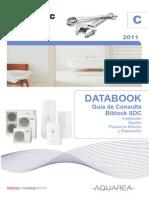 Guia_C-AQB Databook 2011 Guia de Consulta Aquearea Biblock SDC Mono y Trifasicas_sin_portadas