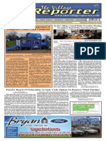 The Village Reporter - November 20th, 2013