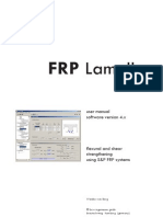 FRP Lamella ACI User Manual
