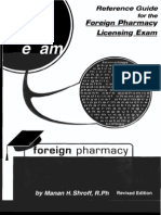 Reference Guide for Foreign Pharmacy Lic Exam