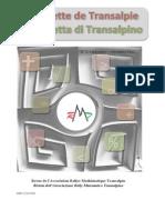 La Gazzetta Di Transalpino - 2