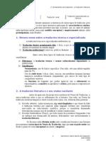 3. Dimensións da tradución