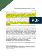 Jódar, F. y Gómez, L. (2004). El sentido crítico de las ciencias sociales
