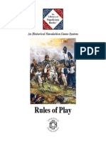 The library of Napoleonic Battles Rules Color