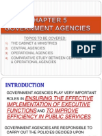Chapter 5 Government Agencies New