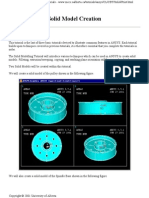 Ansys Tutorial on Pulley Modeling