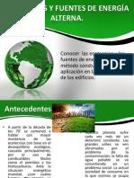 ECOTECNIAS Y FUENTES DE ENERGÍA ALTERNA