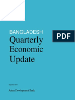 Bangladesh Quarterly Economic Update - September 2013