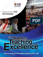 The Book the Quest for Teaching Excellence